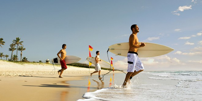 Surfare i Australien