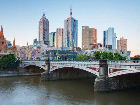 Melbourne i Australien