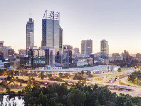 Perth i Australien